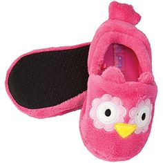 Stephen Joseph Toddler's Silly Slippers Stephen Joseph silly slippers are sweet, stylish, and attractive and have three dimensional accents. Toddler sizing runs Kids Slippers, Cozy, Joseph, Stylish, Three Dimensional, Shopping, Toddlers, Shoes, Fashion