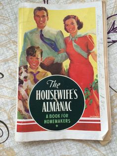 1938 Housewives Almanac by JerrysTreasures on Etsy