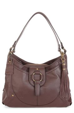 Free shipping and returns on Børn 'Kennewick' Leather Shoulder Bag at Nordstrom.com. Lavishly pebbled leather shapes the slouchy profile of a street-savvy shoulder bag accented by a swingy tassel.
