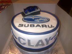 Subaru cake: Grooms Cake?