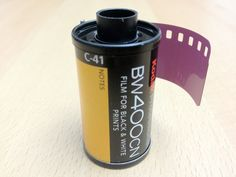 Kodak BW400CN. This emulsion replaces T400 CN. Both are black & white films which can be processed in C-41 chemicals and are similar to Ilford XP2 Super.