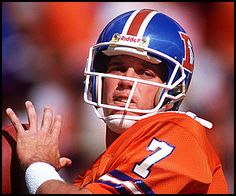 John Elway~former quarterback for the Denver Broncos born in Port Angeles, WA. Denver Broncos Football, Go Broncos, Broncos Fans, Football Helmets, Football Humor, Football Shirts, Soccer Humor, Football Names, Football Players