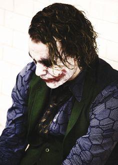 Heath Ledger as Joker in The Dark Knight