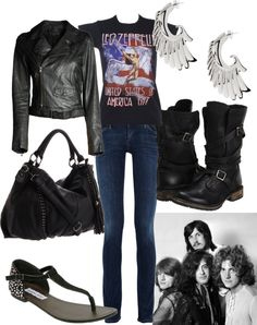 Led Zeppelin 3, created by nicseb23 on Polyvore