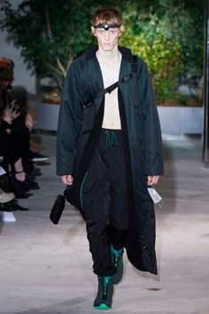 Cottweiler showed its Fall/Winter 2017 collection during London Fashion Week Men's.
