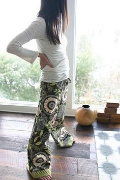 PJ's Tutorial. so fun for the holidays!! We do matching family pj's so this is perfect. I can pick the fabric.
