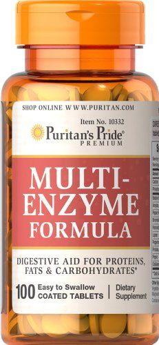 Multi Enzyme, 100 Tablets