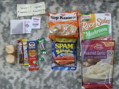 Creating survival packs/MRE's - less expensive than buying pre-packaged. Do as a Girl Scout activity for safety badge?