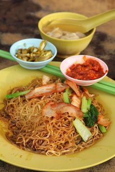 Wonton Mee (Penang Style)