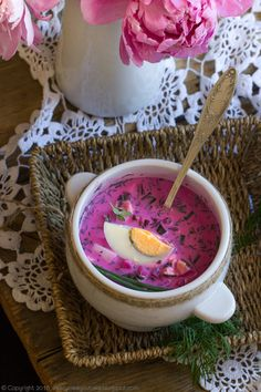 Kefir, Acai Bowl, Concept, Cooking, Breakfast, Polish Food, Recipes, Acai Berry Bowl, Kitchen