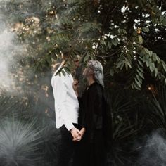 Moody, romantic, and mysterious, these aren't your average anniversary photos!