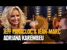 Jeff Panacloc au grand cabaret avec Adriana karembeu