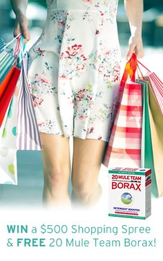 Enter to WIN the 20 Mule Team Borax Fresh Start Sweepstakes!
