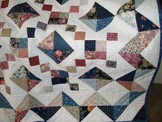 close-up of jewel box quilt