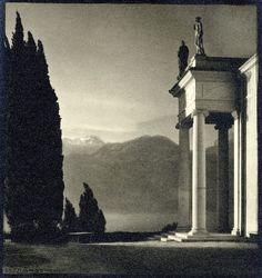 regardintemporel:    Erich Angenendt - Palazzo di Sagno, ca. 1930