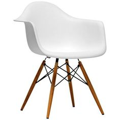Set of 2 Pascal White Plastic Side Chairs - #W5901 | LampsPlus.com