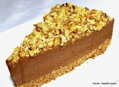 Nutellový nepečený cheesecake Tiramisu Cheesecake, Irish Cottage, Mini Cheesecakes, Sweet Desserts, Vanilla Cake, Nutella, Food And Drink, Pie, Cupcakes