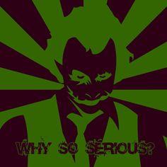 Joker stencil design by ~outsiderzero on deviantART