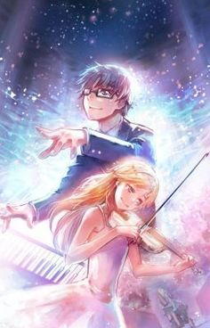 #wattpad #fanfiction This story is based off of the anime, Your Lie in April, but from Kaori's perspective. A girl named Kaori is suffering from an illness while being in love with a boy that has had some serious trauma in his life. The characters of this story belong to Naoshi Arakawa.