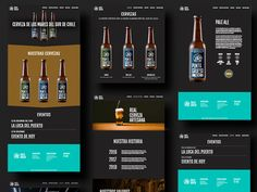 Brewing Co. Landing Page designed by Markos Esther. Connect with them on Dribbble; Craft Cider, Ui Website, Website Design Inspiration, Site Internet, Beer Brewing, Store Design, Website Template, Design Crafts, Restaurant Bar
