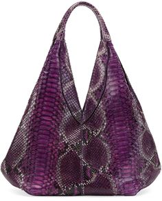 Purple Snake Leather Tote Bag by VBH. Buy for $4,950 from Bergdorf Goodman