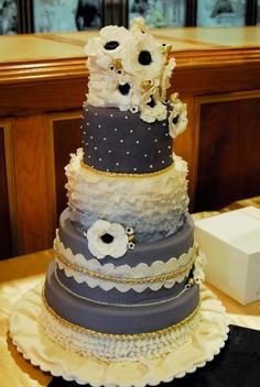 Fun wedding cake!