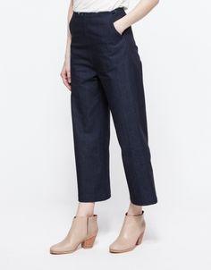 Tonya Wide Leg Crop Pant