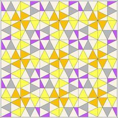 lieblingsdecke Quilts: Zitronenfalter pattern