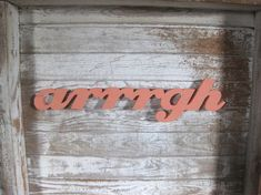 Arrrrgh pirate word wood sign beach decor cottage by seasawsign, $40.00