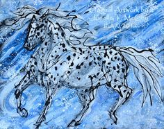 Contemporary Artists of Oklahoma: Original Acrylic Artwork by Oklahoma Equine Artist Jonelle T. McCoy