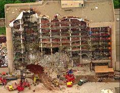Oklahoma City Bombing, April 19, 1995.