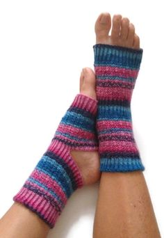 Yoga socks... perfect for painting your toenails during the winter!
