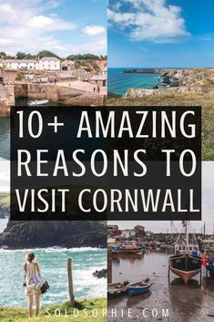 Cornwall is a picturesque county on the most South Westerly tip of the UK. Filled with secret beaches, here are reasons to visit Cornwall this year! England Map, England Houses, Devon England, Cornwall England, Yorkshire England, Oxford England, Yorkshire Dales, London England, Travel England