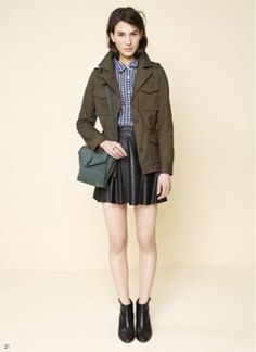 EXCLUSIVE: Madewells Fall 2013 Lookbook Is a Street Style Photographers Dream : Lucky Magazine