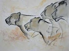 Billedresultat for cave paintings lions