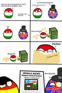 Post with 6 votes and 202 views. Tagged with svalbard, colonialism, hungaryball; Funny Images, Funny Pictures, Bad Memes, History Memes, Fun Comics, Live Long, Hetalia, Hungary, Trending Memes