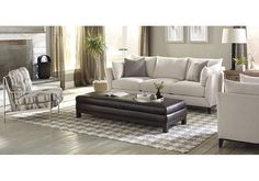 Lacks | Metro Estate 2-Pc Living Room Set