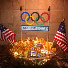Put a bowl of gold chocolate coins out for snacks