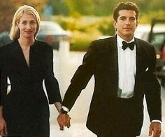 Carolyn Bessette Kennedy and JFK Jr