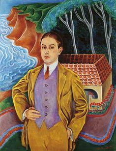 """Nils von Dardel 1916 """"Rolf de Maré"""""""