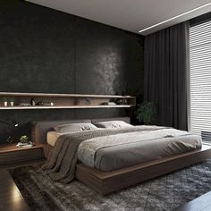 Beautiful Master Bedrooms with Modern Interior Decor - Gazzed - Designer bedroom design. Beautiful Master Bedrooms with Modern Interior Decor The Effective Picture - Modern Master Bedroom, Modern Bedroom Design, Master Bedroom Design, Minimalist Bedroom, Home Decor Bedroom, Home Interior Design, Modern Interior, Master Bedrooms, Bedroom Ideas