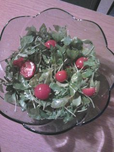Török rukkola saláta
