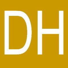 DH Logo Social Media Site, Letters, Posts, Logo, Messages, Logos, Letter, Lettering, Environmental Print