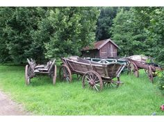 old farm wagons