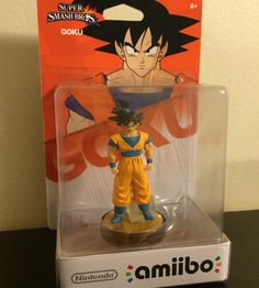 Goku amiibo (fake)