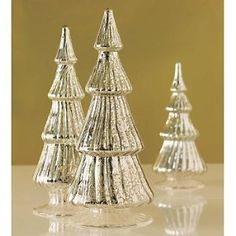 mercury glass christmas trees | Mercury Glass Trees | Shop home, interior_design| Kaboodle