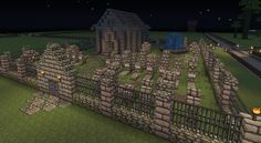 MineGraveyard.jpg (1024×563) Might just do this for every time I die in my survival world