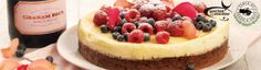 Spoil Mom by creating your own Table of Peace & Unity at home. Baked cheesecake brownie topped with berries.