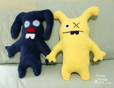 i love these, they remind me of ugly dolls