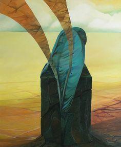 Marzyciel / The Dreamer | 73 x 60 cm | olej na płótnie / Oil on canvas